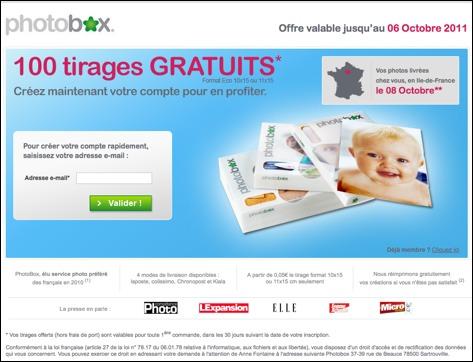 Photobox code promo / réduction + cadeaux