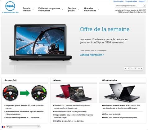 Dell livraison gratuite