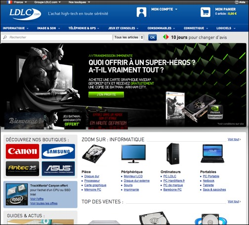 LDLC code promo / réduction