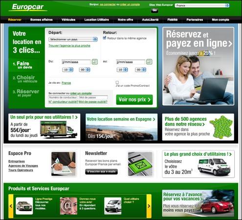 Europcar code promo / bon de réduction