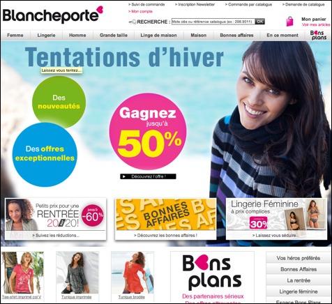 Blanche Porte code promo