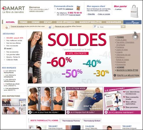 Damart Porte code promo / bon de réduction