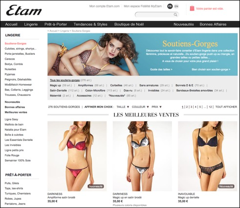 Etam code promo / réduction