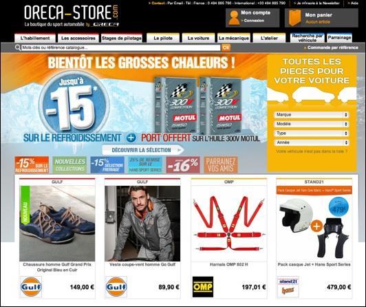 oreca-store .com code promo