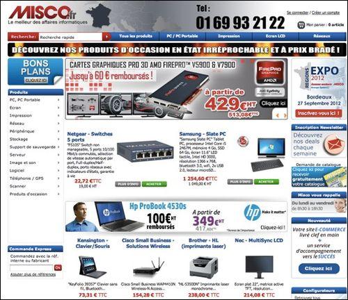 Misco .fr code promo