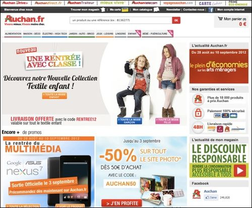 code promo Auchan