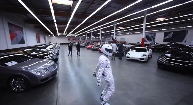 Harlem Shake voitures de luxe