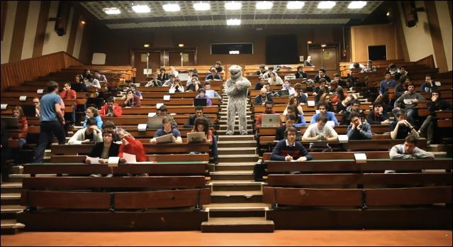 The Harlem Shake à l'université Telecom Paris Tech