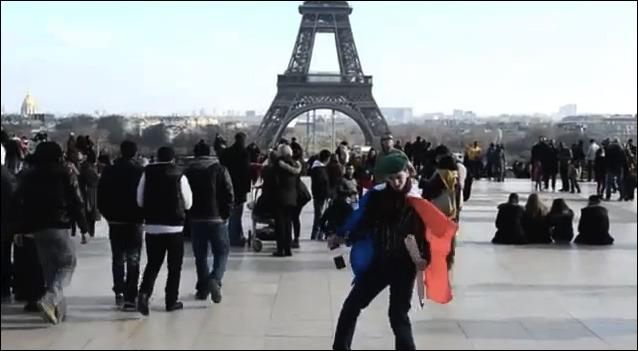 The Harlem Shake Paris La Tour Eiffel