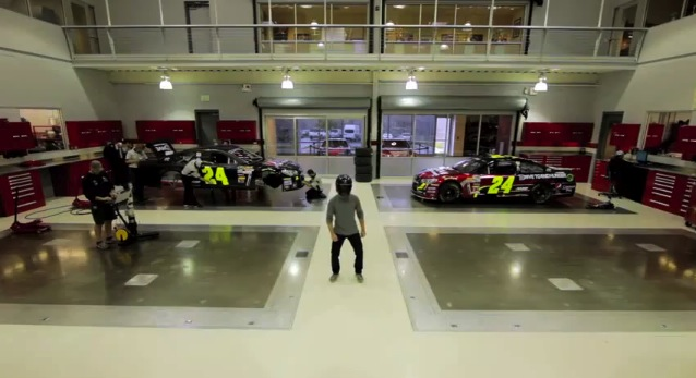 Harlem Shake Jeff Gordon