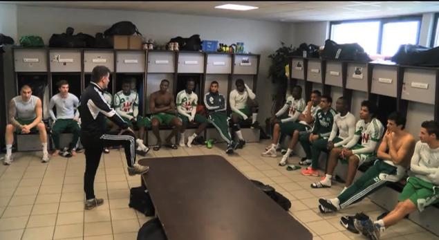 Le Harlem Shake football des Verts de Saint-Etienne