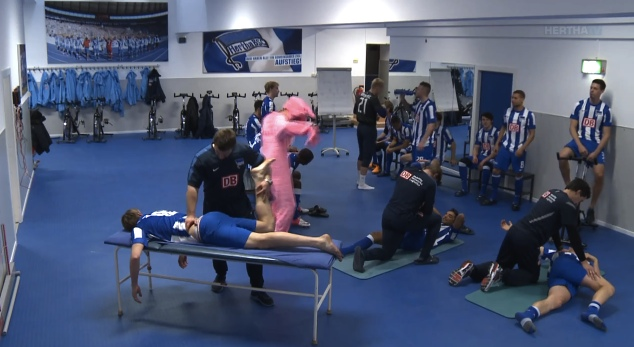 The Harlem Shake Hertha BSC Berlin