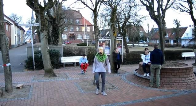 Harlem Shake Hamburg / Allemagne