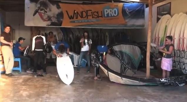 HARLEM SHAKE Kitesurf et windsurf Maroc