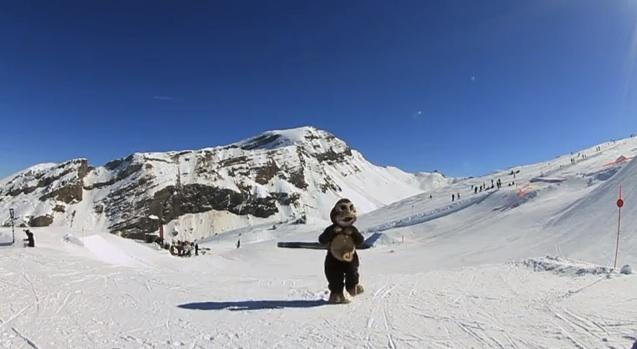 Harlem shake au ski à AVORIAZ