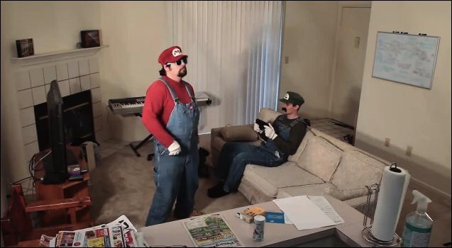 Harlem Shake Mario