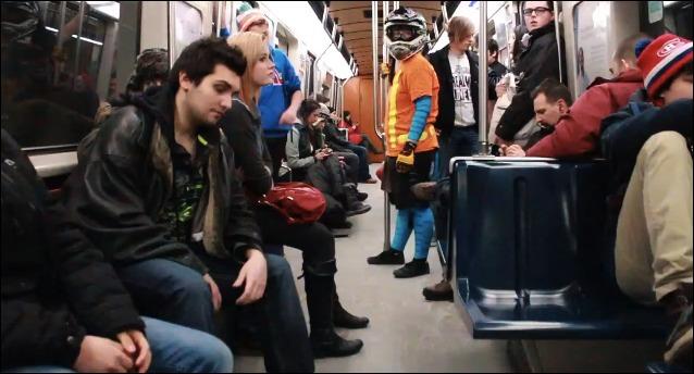 Harlem Shake dans le métro