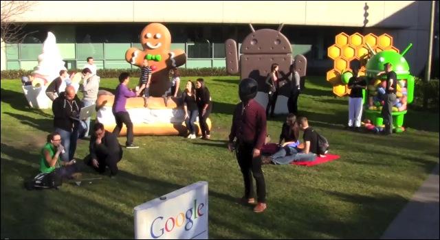 The Harlem Shake Google
