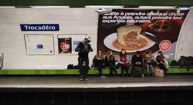 Harlem Shake dans le métro de Paris