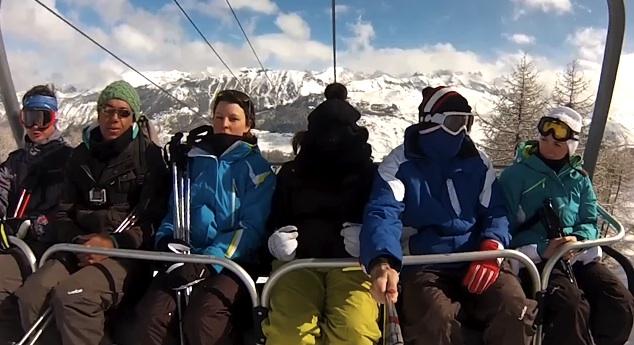 Harlem Shake au ski