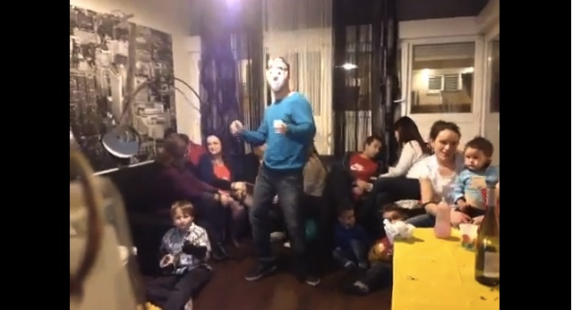 Harlem Shake dans une famille Corse