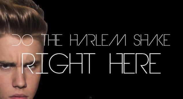 Harlem Shake Justin Bieber