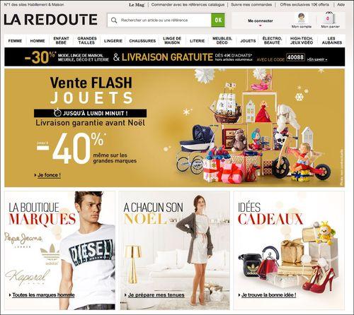La Redoute code promo