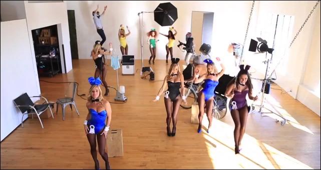 Harlem Shake sexy Playmates de Playboy