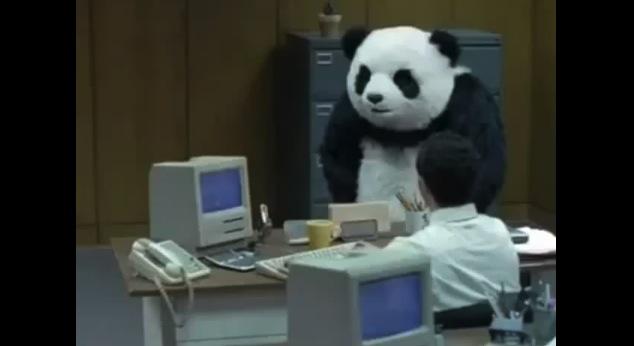 Harlem Shake panda