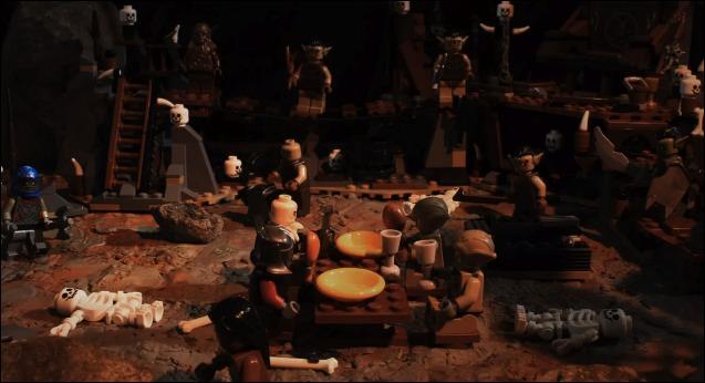 The Harlem Shake : LEGO The Hobbit
