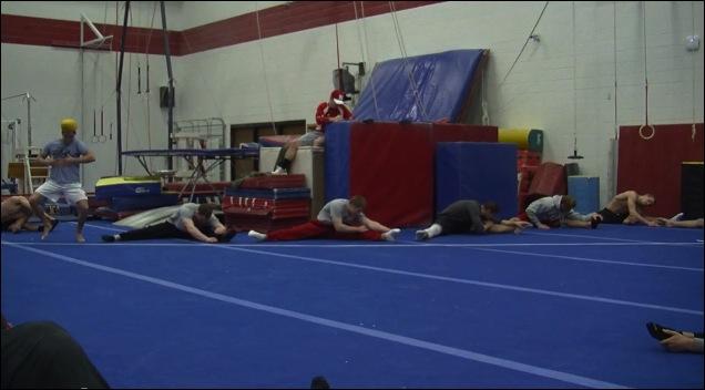 Harlem Shake de gymnastes