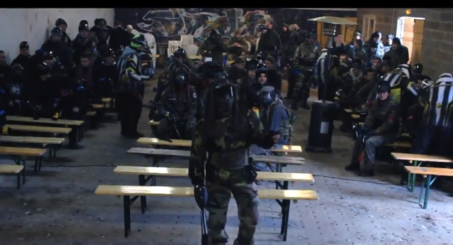 Harlem Shake Paintball