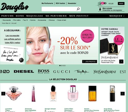 Douglas-code-promo