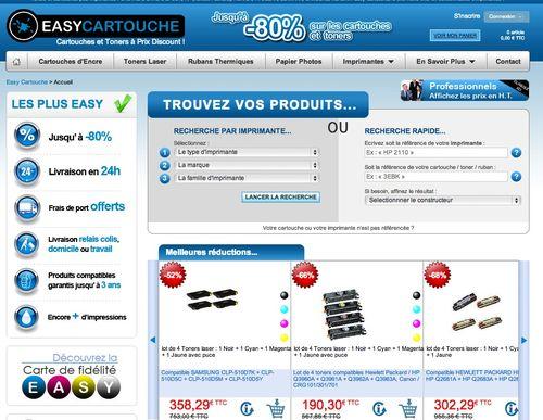 Easycartouche.fr code promo