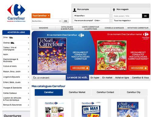 Carrefour noel