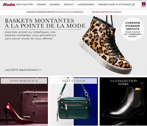 Bata .fr code promo